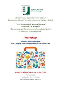 workshop besaferate università tor vergata