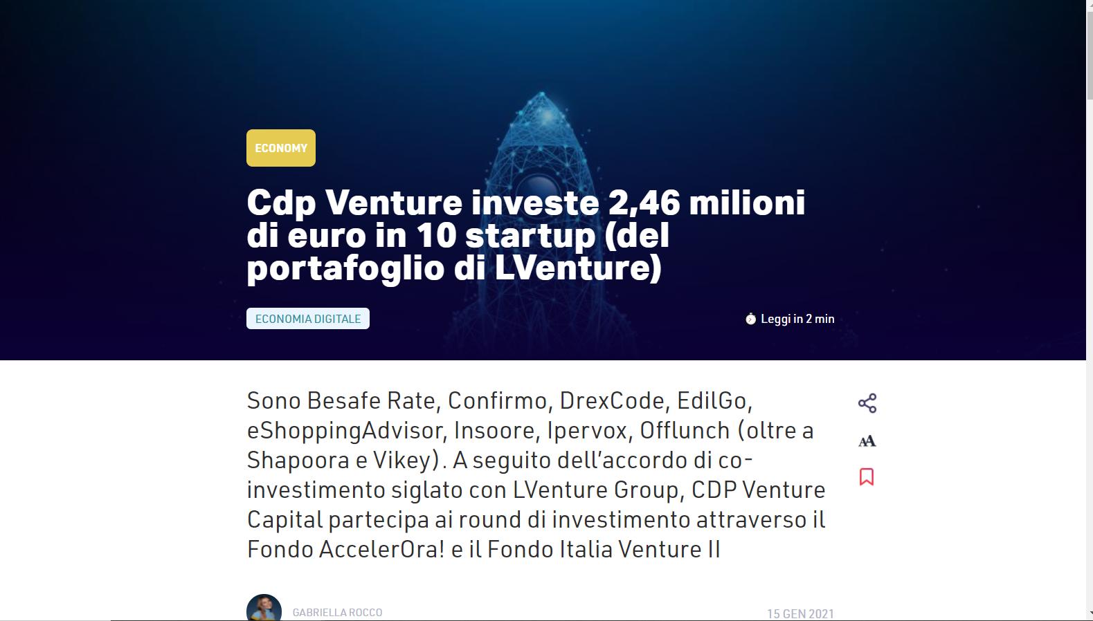 cdp venture