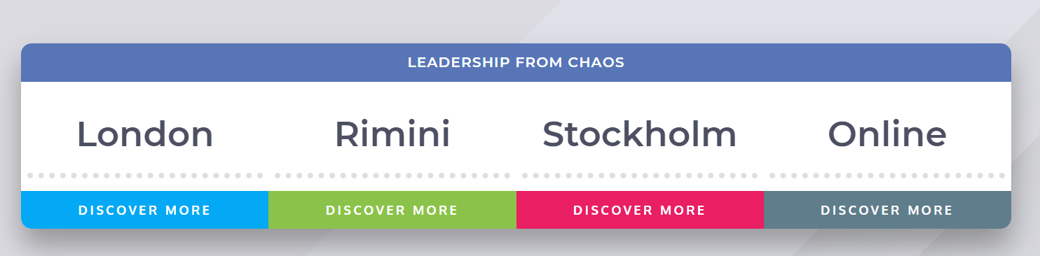 leadership from chaos